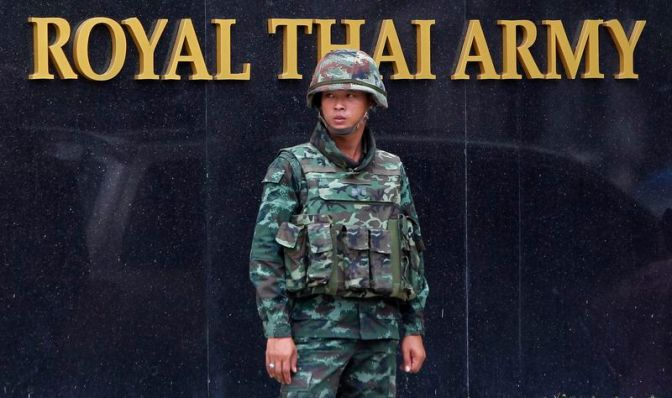 The Militarisation of Thai Society