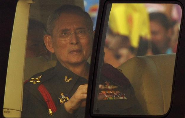 Does the Thai King's immense wealth give him political power?
