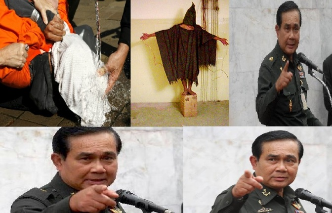 "Dictator Prayut hauls in more people for ""attitude changes"""