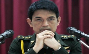 spokesman of the illegal junta