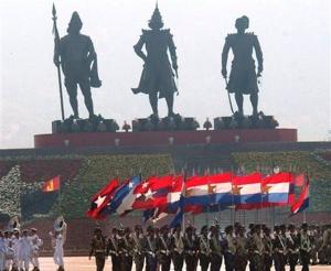 Myanmar Armed Forces Day (AP)