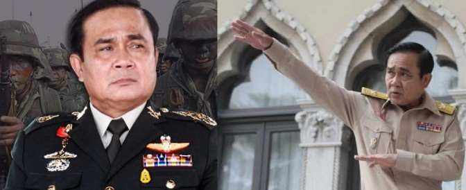 "Prayut's ""because I say so"" law!!"