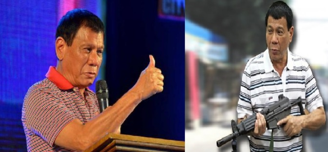 Gangster Rodrigo Duterte, president of the Philippines