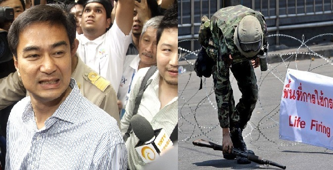 The Opportunism and Crimes of Abhisit Vejjajiva