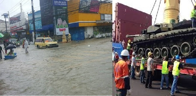 Tanks don't solve the problem of flooding!