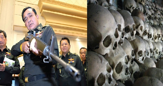 A regime built upon corpses
