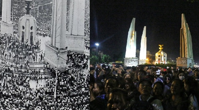 Class struggle has always been a feature of recent Thai history