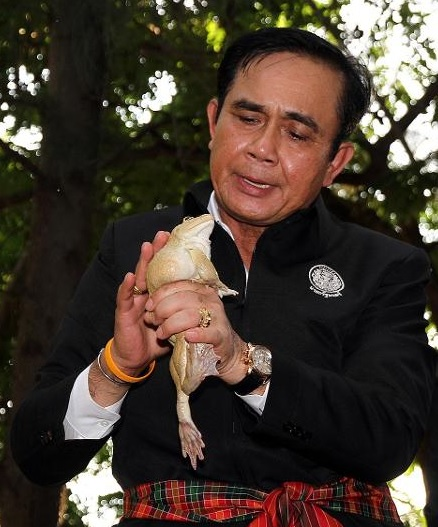 Prayut and frog