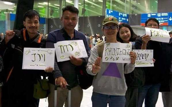 Congratulations to Faiyen on their arrival in France