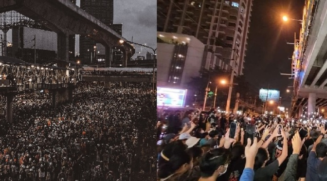 Protesters continue to defy the junta